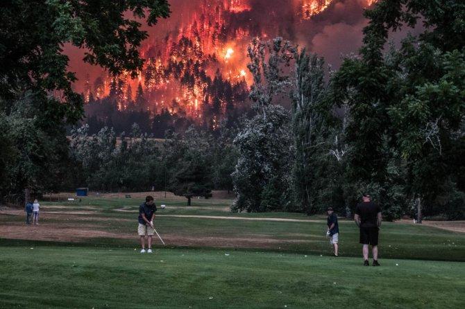 golf fire